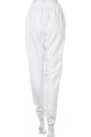 Dámské tepláky Missguided, Velikost S, Barva Bílá, 55% polyester, 45% bavlna, Cena  305,00Kč