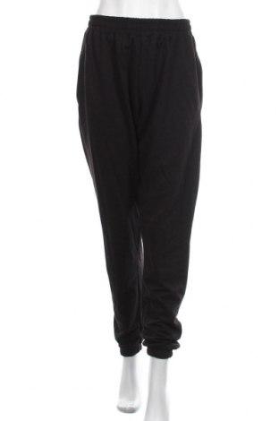 Дамско спортно долнище Missguided, Размер L, Цвят Черен, 60% памук, 40% полиестер, Цена 27,00лв.