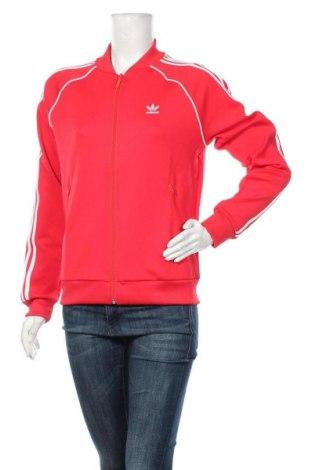 Dámský sportovní vrch  Adidas Originals, Velikost S, Barva Červená, 70% polyester, 25% bavlna, 5% elastan, Cena  1076,00Kč