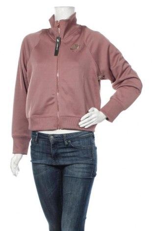 Dámský sportovní vrch  Nike, Velikost M, Barva Růžová, 87% polyester, 13% bavlna, Cena  1076,00Kč
