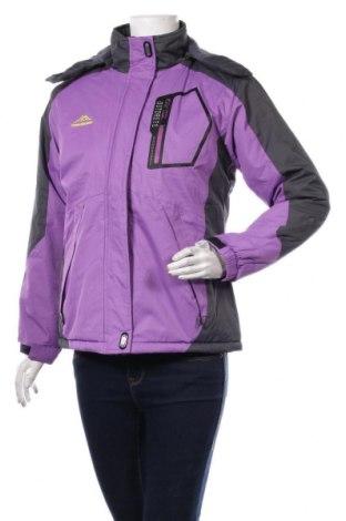 Дамско спортно яке, Размер M, Цвят Лилав, Цена 50,40лв.