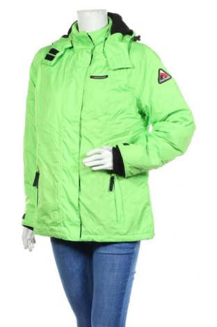 Γυναικείο μπουφάν αθλητικό Bpc Bonprix Collection, Μέγεθος M, Χρώμα Πράσινο, Πολυεστέρας, Τιμή 31,82€