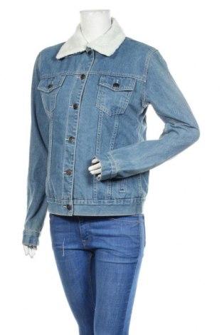 Γυναικείο μπουφάν Boohoo, Μέγεθος S, Χρώμα Μπλέ, 80% βαμβάκι, 20% πολυεστέρας, Τιμή 20,13€