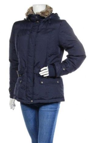Γυναικείο μπουφάν Boysen's, Μέγεθος M, Χρώμα Μπλέ, Πολυεστέρας, φτερά και πούπουλα, Τιμή 35,72€