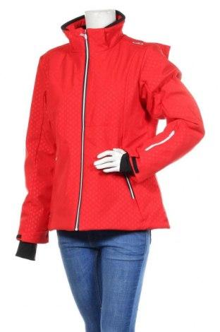 Γυναικείο μπουφάν αθλητικό CMP, Μέγεθος XL, Χρώμα Κόκκινο, Τιμή 27,28€