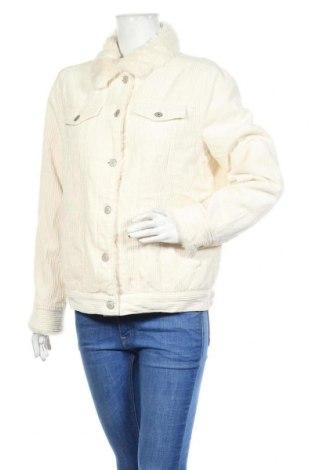 Γυναικείο μπουφάν Denim Co, Μέγεθος M, Χρώμα Εκρού, Βαμβάκι, Τιμή 29,88€