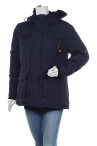 Geacă de femei Geographical Norway, Mărime S, Culoare Albastru, Poliamidă, Preț 787,01 Lei