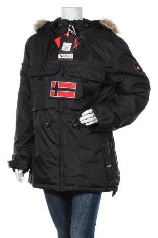 Geacă de femei Geographical Norway, Mărime L, Culoare Negru, Poliester, Preț 787,01 Lei