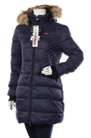 Γυναικείο μπουφάν Geographical Norway, Μέγεθος M, Χρώμα Μπλέ, Πολυαμίδη, Τιμή 82,22€
