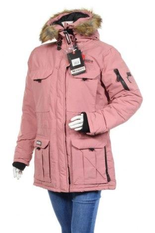 Geacă de femei Geographical Norway, Mărime XL, Culoare Roz, Poliamidă, Preț 283,32 Lei