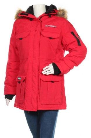 Дамско яке Geographical Norway, Размер XL, Цвят Червен, Полиамид, Цена 143,55лв.