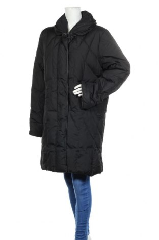 Γυναικείο μπουφάν Marco Pecci, Μέγεθος L, Χρώμα Μαύρο, Πολυεστέρας, Τιμή 23,38€