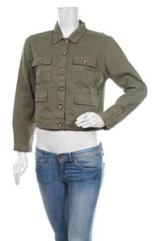 Geacă de femei Miss Selfridge, Mărime M, Culoare Verde, Bumbac, Preț 219,57 Lei