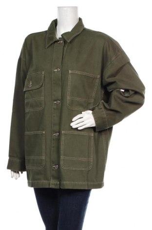 Geacă de femei Monki, Mărime XL, Culoare Verde, Bumbac, Preț 194,90 Lei