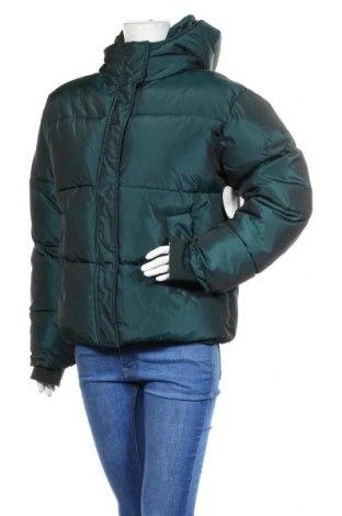 Дамско яке Na-Kd, Размер M, Цвят Зелен, Полиестер, Цена 106,50лв.