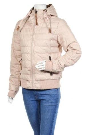 Γυναικείο μπουφάν Naketano, Μέγεθος M, Χρώμα Ρόζ , 42% βαμβάκι, 40% πολυεστέρας, 18% πολυαμίδη, Τιμή 72,74€