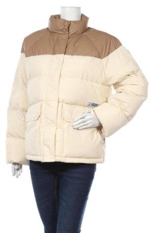 Γυναικείο μπουφάν Napapijri, Μέγεθος S, Χρώμα  Μπέζ, 81% βαμβάκι, 19% πολυαμίδη, Τιμή 200,65€