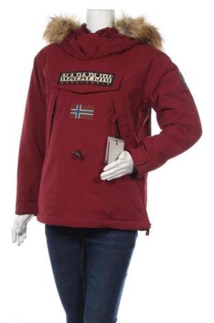 Geacă de femei Napapijri, Mărime S, Culoare Roșu, 96% poliamidă, 4% elastan, Preț 960,03 Lei