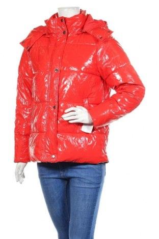 Γυναικείο μπουφάν Noisy May, Μέγεθος XS, Χρώμα Κόκκινο, 50% πολυουρεθάνης, 50% βισκόζη, Τιμή 54,56€