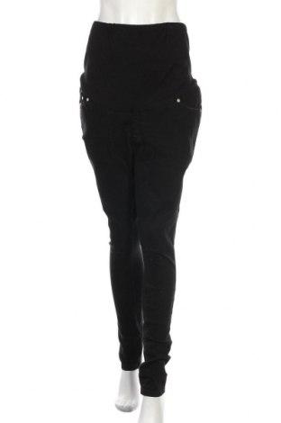 Дънки за бременни Boohoo, Размер M, Цвят Черен, 65% памук, 33% полиестер, 2% еластан, Цена 44,25лв.