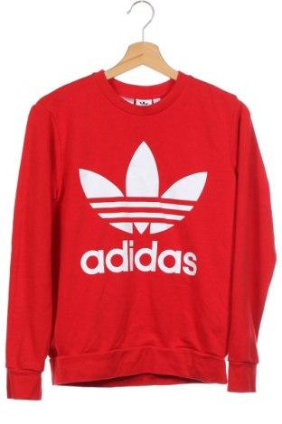 Bluză pentru copii Adidas, Mărime 13-14y/ 164-168 cm, Culoare Roșu, 70% bumbac, 30% poliester, Preț 63,67 Lei