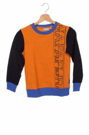 Dětská halenka  Napapijri, Velikost 7-8y/ 128-134 cm, Barva Oranžová, 80% bavlna, 20% polyester, Cena  859,00Kč