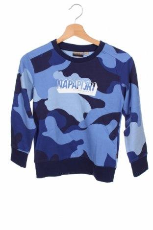 Dětská halenka  Napapijri, Velikost 7-8y/ 128-134 cm, Barva Modrá, Bavlna, Cena  859,00Kč