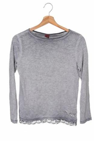 Παιδική μπλούζα S.Oliver, Μέγεθος 10-11y/ 146-152 εκ., Χρώμα Γκρί, 100% βαμβάκι, Τιμή 10,21€