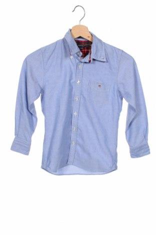 Детска риза Gant, Размер 6-7y/ 122-128 см, Цвят Син, 100% памук, Цена 24,00лв.