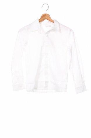 Παιδικό πουκάμισο Name It, Μέγεθος 8-9y/ 134-140 εκ., Χρώμα Λευκό, 98% βαμβάκι, 2% ελαστάνη, Τιμή 18,95€