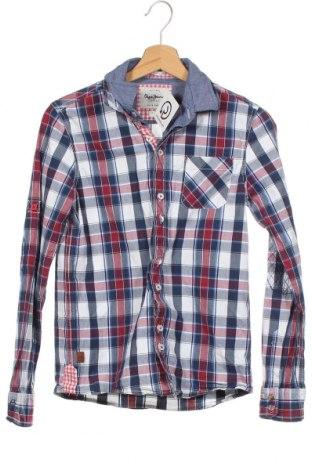Παιδικό πουκάμισο Pepe Jeans, Μέγεθος 13-14y/ 164-168 εκ., Χρώμα Πολύχρωμο, Βαμβάκι, Τιμή 16,89€