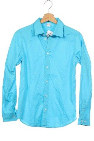 Παιδικό πουκάμισο S.Oliver, Μέγεθος 13-14y/ 164-168 εκ., Χρώμα Μπλέ, Βαμβάκι, Τιμή 9,38€
