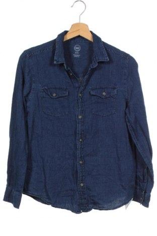 Παιδικό πουκάμισο Wonder Nation, Μέγεθος 13-14y/ 164-168 εκ., Χρώμα Μπλέ, Βαμβάκι, Τιμή 9,38€