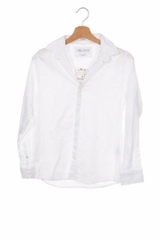Παιδικό πουκάμισο Zara, Μέγεθος 11-12y/ 152-158 εκ., Χρώμα Λευκό, Βαμβάκι, Τιμή 5,59€