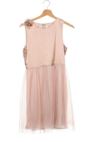 Παιδικό φόρεμα Chi Chi, Μέγεθος 12-13y/ 158-164 εκ., Χρώμα  Μπέζ, Πολυαμίδη, Τιμή 34,41€