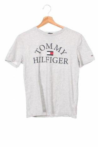 Παιδικό μπλουζάκι Tommy Hilfiger, Μέγεθος 12-13y/ 158-164 εκ., Χρώμα Γκρί, Βαμβάκι, Τιμή 20,10€