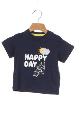 Παιδικό μπλουζάκι ZY kids, Μέγεθος 9-12m/ 74-80 εκ., Χρώμα Μπλέ, Βαμβάκι, Τιμή 6,70€