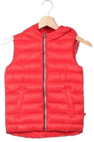 Παιδικό γιλέκο United Colors Of Benetton, Μέγεθος 4-5y/ 110-116 εκ., Χρώμα Κόκκινο, Πολυαμίδη, Τιμή 33,49€