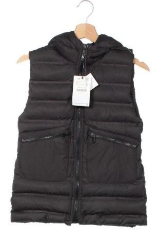 Детски елек Zara, Размер 8-9y/ 134-140 см, Цвят Черен, Полиестер, Цена 29,25лв.