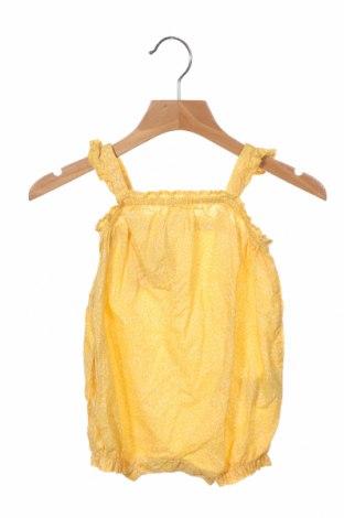 Παιδική σαλοπέτα H&M, Μέγεθος 3-6m/ 62-68 εκ., Χρώμα Κίτρινο, Βαμβάκι, Τιμή 16,70€