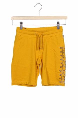 Dětské krátké kalhoty  Napapijri, Velikost 7-8y/ 128-134 cm, Barva Žlutá, Bavlna, Cena  600,00Kč