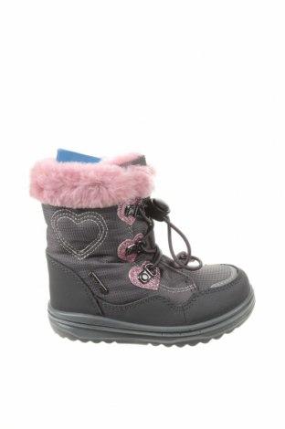 Детски обувки Richter, Размер 22, Цвят Сив, Текстил, Цена 55,30лв.