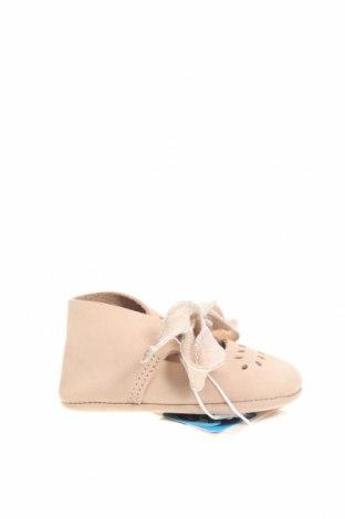 Dětské boty  Zara, Velikost 15, Barva Béžová, Přírodní velur , Cena  299,00Kč