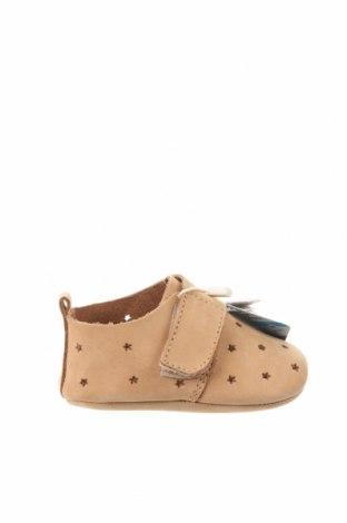 Dětské boty  Zara, Velikost 15, Barva Hnědá, Pravá kůže, Cena  299,00Kč