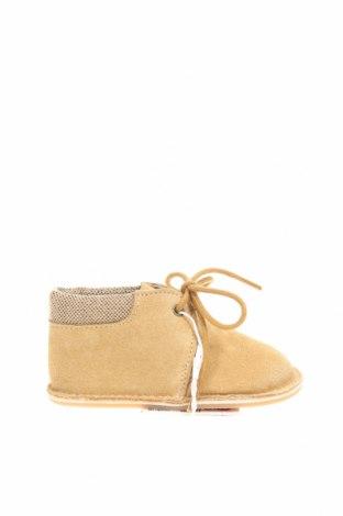 Dětské boty  Zara, Velikost 17, Barva Béžová, Přírodní velur , Cena  299,00Kč