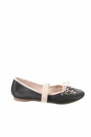 Детски обувки Zara, Размер 30, Цвят Черен, Еко кожа, Цена 11,27лв.