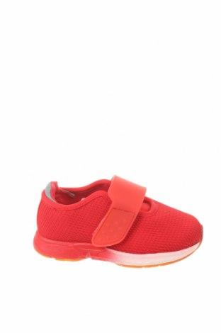 Детски обувки Zara, Размер 20, Цвят Червен, Текстил, полиуретан, Цена 12,65лв.