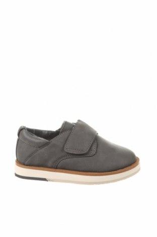 Детски обувки Zara, Размер 22, Цвят Сив, Еко кожа, Цена 11,96лв.