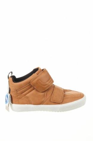 Παιδικά παπούτσια Zara, Μέγεθος 38, Χρώμα Καφέ, Δερματίνη, Τιμή 13,68€