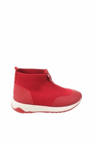 Детски обувки Zara, Размер 21, Цвят Червен, Текстил, Цена 20,65лв.